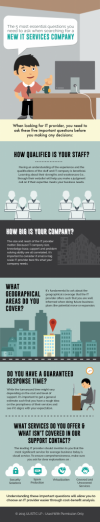 Infographic:  5 Essential Questions To Ask When Searching For A New IT Services Company