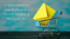 Convert a User Mailbox to a Shared Mailbox in Microsoft 365